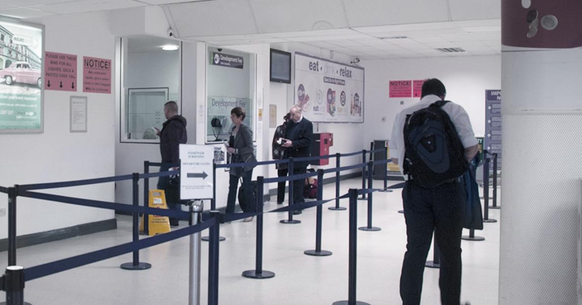 Departures Entrance